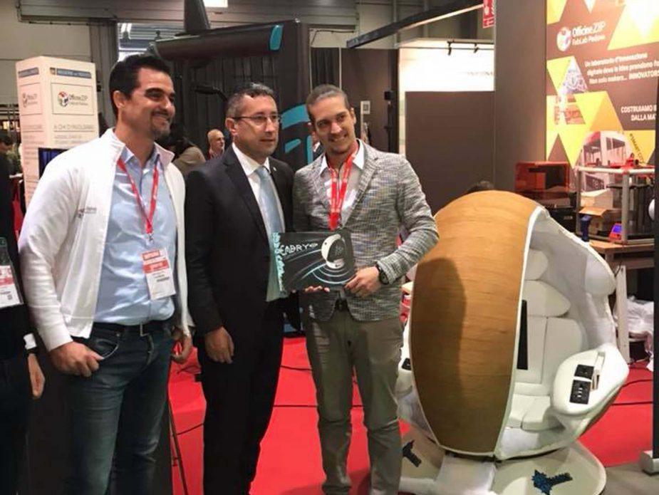 6_Andrea Salmaso e Gianluca Forcolin con Embryo allo Smau Milano 2017